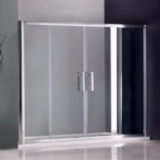 1700MM DOUBLE SLIDING SHOWER DOORS